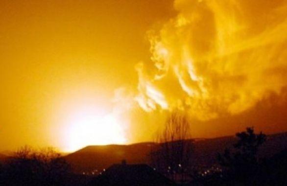 Değirmendere Mahallesi kırsalında  Bozüyük/Adapazarıdoğalgaz hattı Patlama