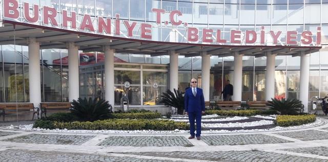 112 şoförü Nuri Bayraktar Burhaniye Belediye Başkanlığı'na Aday Oldu