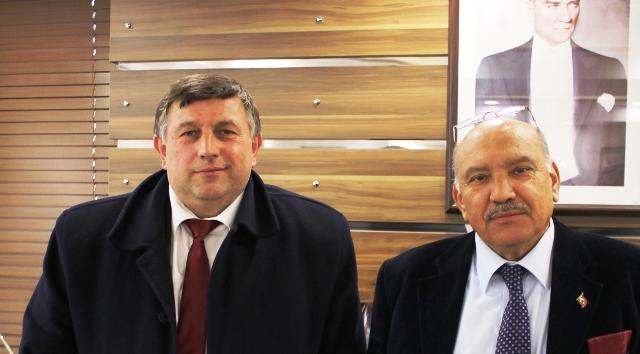 ÖmerTan;Kaymakam Karabulut'u ziyaret etti