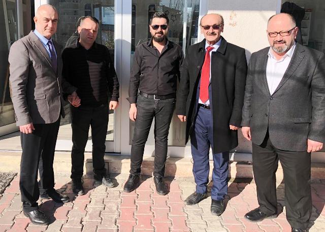 Cihan KOLİP , Şemsettin DUMAN Erenler'de Esnaf Ziyaretine  devam etti
