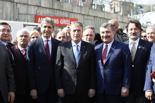 İstanbul'un 5 yıldızlı hastanesi açıldı