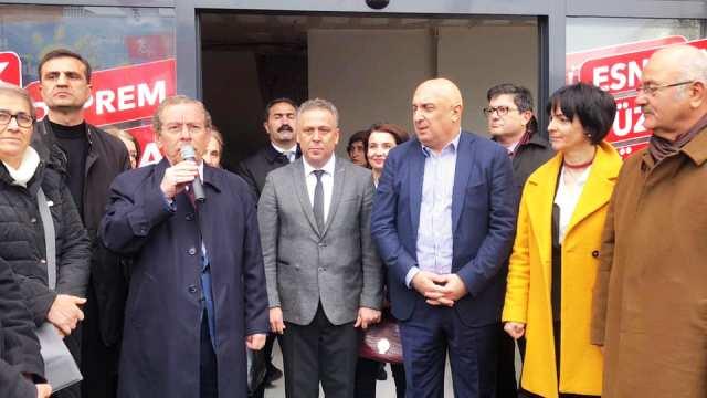 İsmail Kılıç'ın Seçim Bürosu Hizmete Girdi