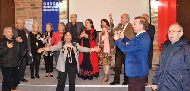 Bursa'da Ozan,Şair, ve Yorumcular Coştu