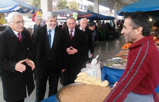 Fahrettin Bay, 'Halkımızın desteği bizi zafere götürecek'