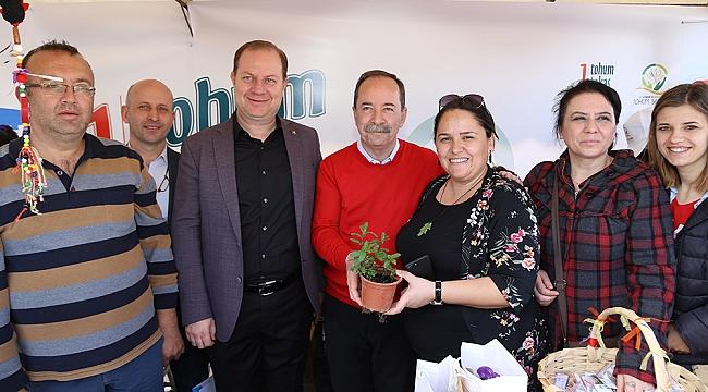 Edirne Belediyesi 1. Tohum Takas Şenliği coşkuyla gerçekleştirildi.