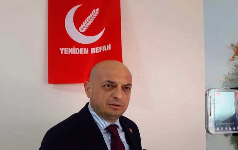 Bulunç BAŞER Yeniden Refah Partisi Adapazarı İlçe Başkanı oldu.