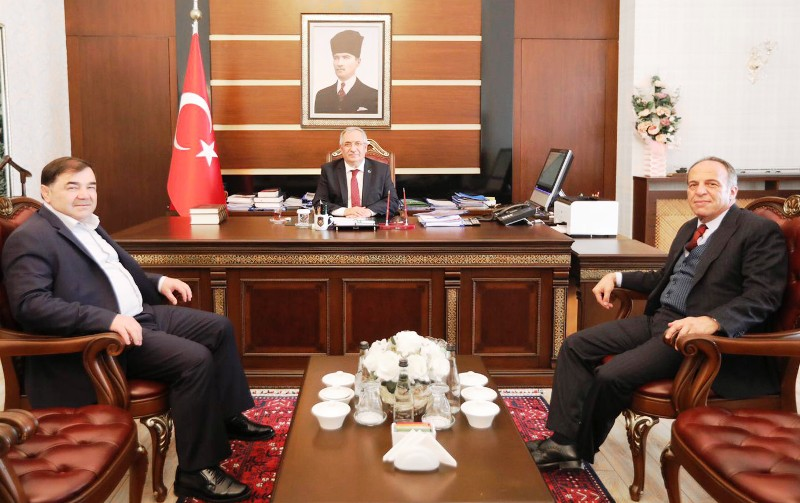 Türkiye Güreş Federasyonu Başkanından Vali Nayir e Ziyaret