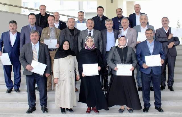 Arifiye Belediye Başkanı İsmail Karakullukçu Mazbatasını Alarak Görevine Başladı…