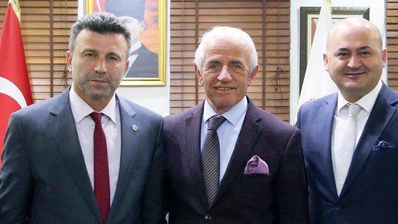 Nafi Güral, Başkan Özen' i Ziyaret Etti