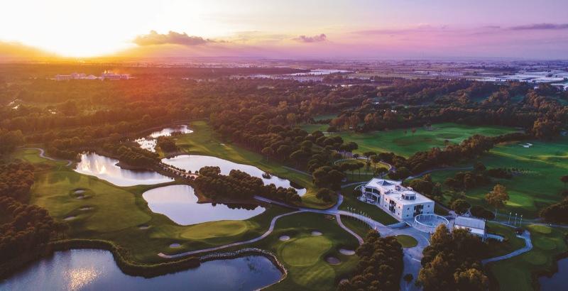 Antalya Golf Club Türkiye'nin en iyisi ödülüne layık görüldü