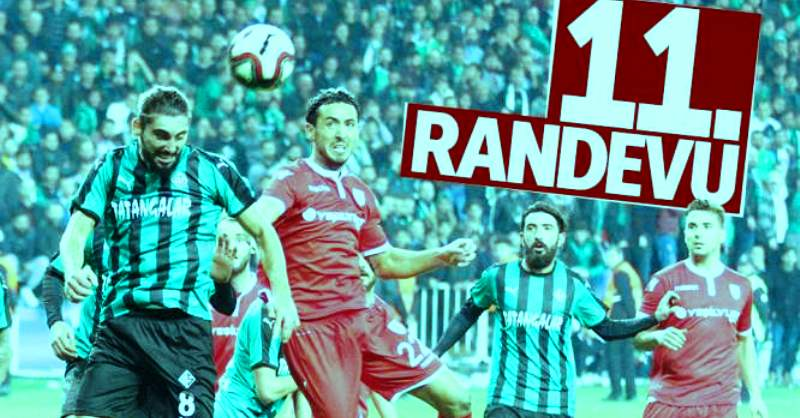 Sakaryaspor Samsunspor  rekabetinde 11. randevu