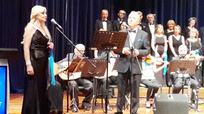 Çağdaş Yaşamı  Destekleme Derneği Türk Müziği Karosu Yaz  Konseri Muhteşemdi