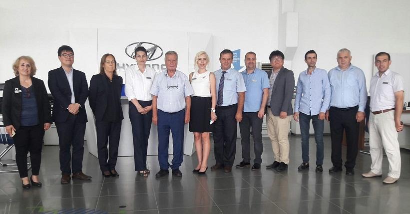 Hyundai Ferhat Otomotiv  Güney Koreli Yöneticileri Ağırladı