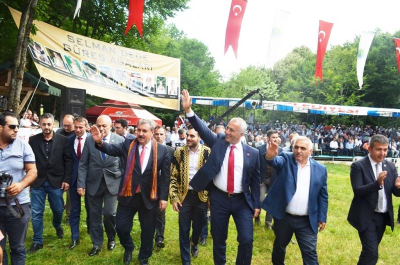 Yeni ağa BBP Genel Başkanı Mustafa Destici oldu