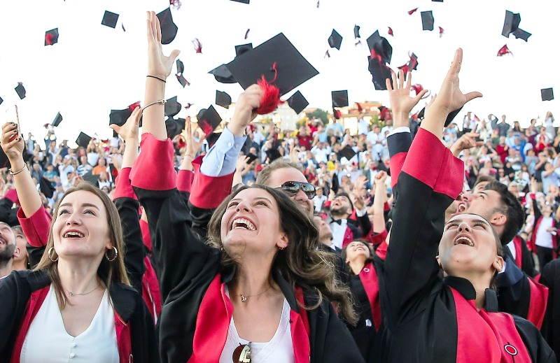 BİLGİ mezun ailesine bu yıl, 6 bin 420 mezun daha katıldı.