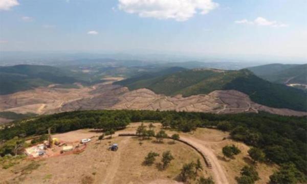Çanakkale'de maden ocağı için 195 bin ağacı katlettiler