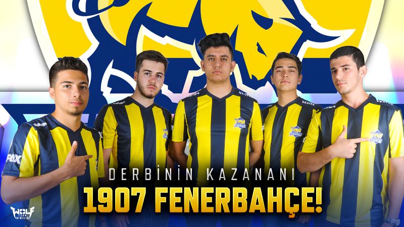 Wolfteam derbisinde rövanşı 1907 Fenerbahçe aldı