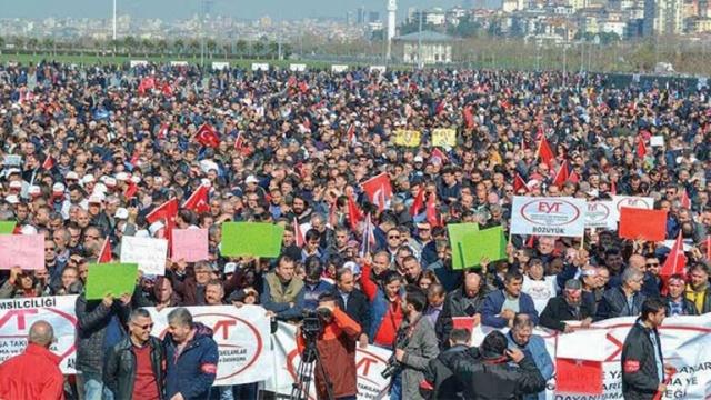 EYT'liler 8 Eylül Pazar günü, Tandoğan Meydanında