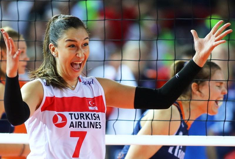 Filenin Sultanları Yarı Finalde! Türkiye 3-0 Hollanda