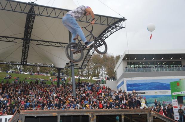 Ayçiçeği Bisiklet Vadisinde büyük heyecan!