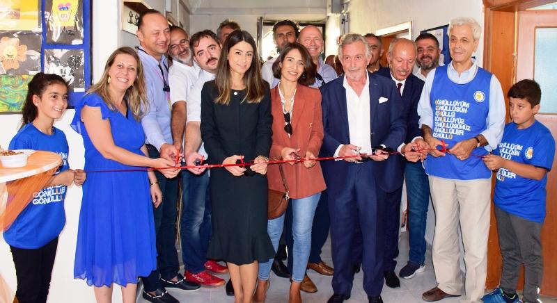 """TEGV Mardin Savur Öğrenim Birimi """"Tasarım ve Beceri Atölyesi"""" açıldı"""
