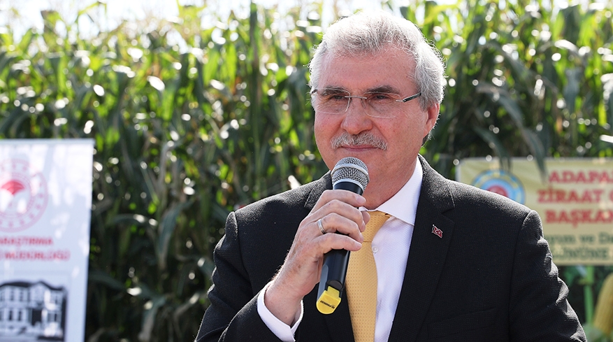 """Ekrem YÜCE""""Sakarya mısır üretiminde Türkiye'de öncü olacak"""""""