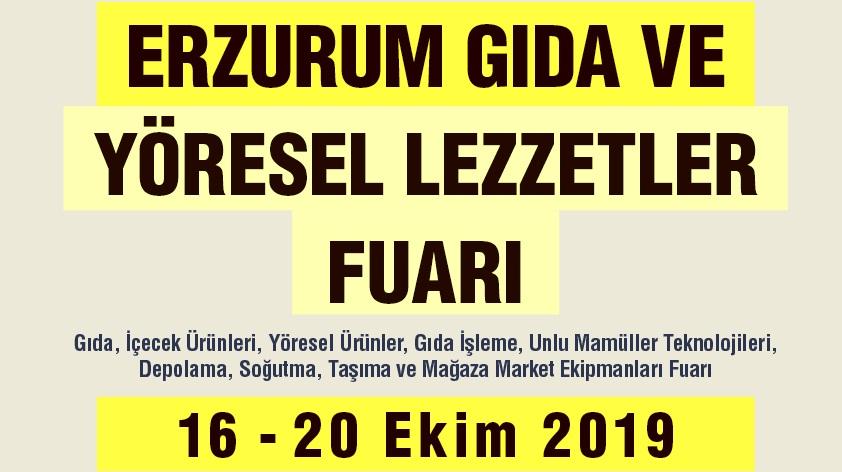 Erzurum Gıda ve Yöresel Lezzetler Fuarı için geri sayım başladı.