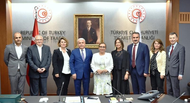 Türk zeytin ve zeytinyağı ihracatçıları,Ticaret Bakanı Ruhsar Pekcan'dan destek istedi.