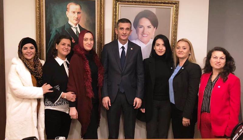 İYİ Parti Sakarya Kadın Örgütü Ankara'da