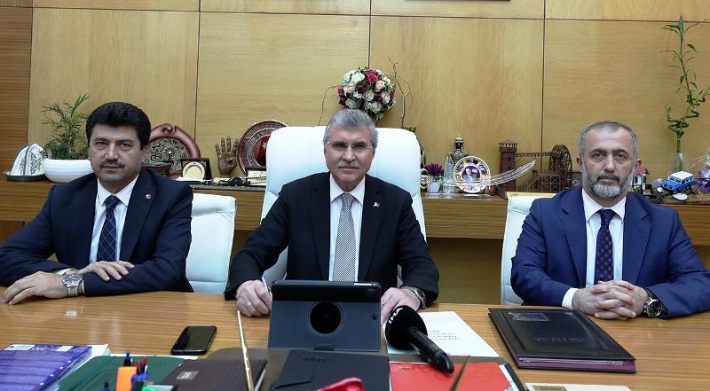 """Büyükşehir Belediye Başkanı Ekrem Yüce""""Sonuç Bildirgesi yol gösterici niteliğe sahip"""""""