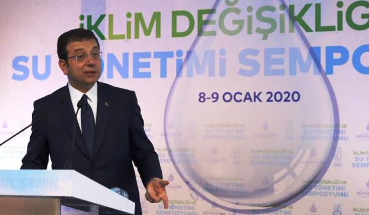 """İBB Başkanı Ekrem İmamoğlu,""""Parayla çözülebilseydi, dünyadaki çöller yemyeşil olurdu"""""""