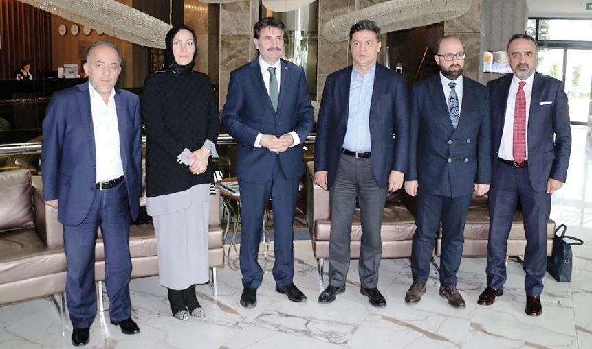 Gelecek Partisi Sakarya istişare Toplantısı Yapıldı
