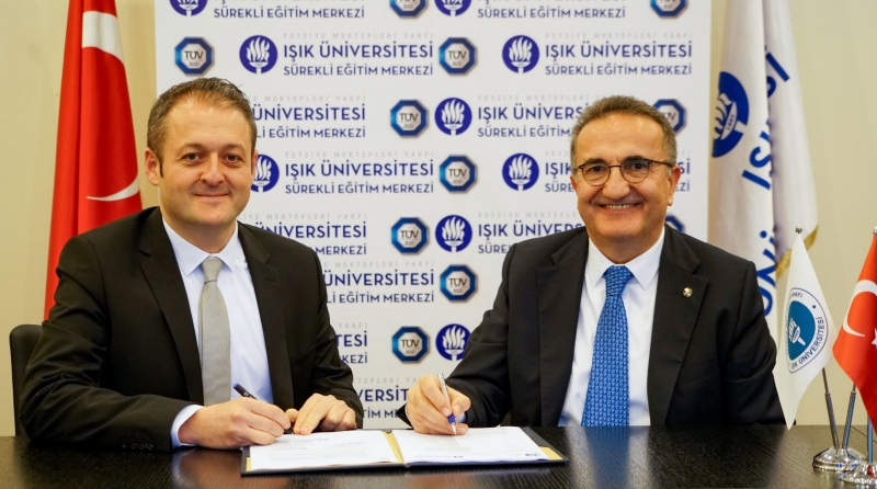 Işık Üniversitesi ve TÜV SÜD Türkiye'den Büyük İş Birliği