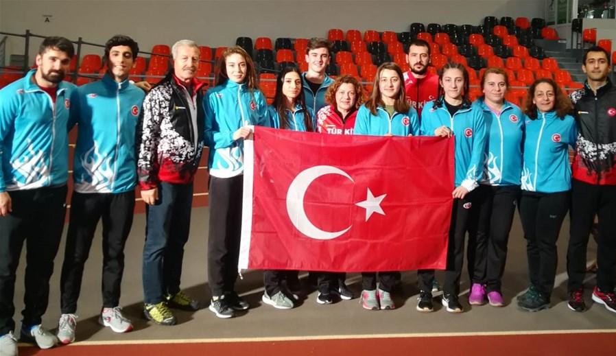 Emine Selda Kırdemir Bulgaristan'dan birinci döndü