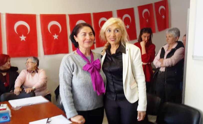 CHP Erenler Kadın Kolları Başkan Semra GÜLER Seçildi.