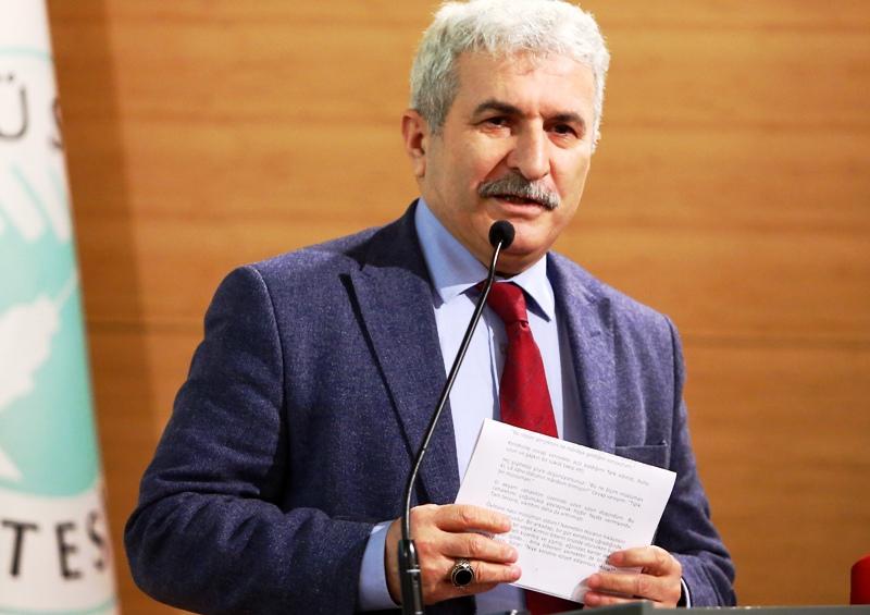 Prof. Dr. İbrahim Özdemir, dünyanın dengesinin bozulduğunu belirtti