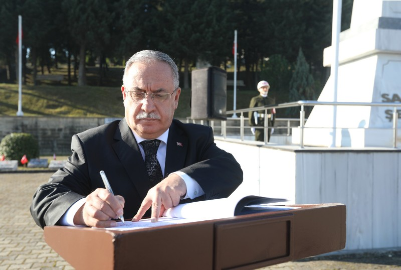 Vali Ahmet Hamdi NAYİR'in Türk Polis Teşkilatı'nın 175. Kuruluş Yıl Dönümü Kutlama Mesajı