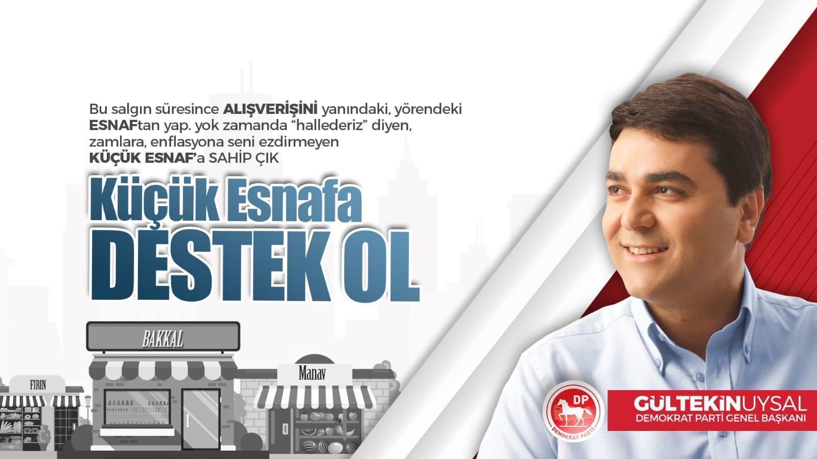 """Küçük Esnafa Destek Ol Türkiye"""""""