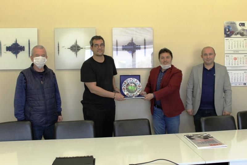 Olgunlar Tertip Komitesinden Sponsor Gazi Metal'e Ziyaret