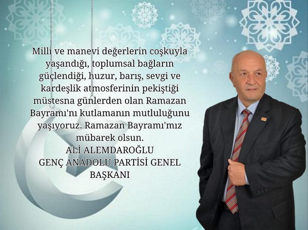 Genç Anadolu Parti'den Bayram Mesajı