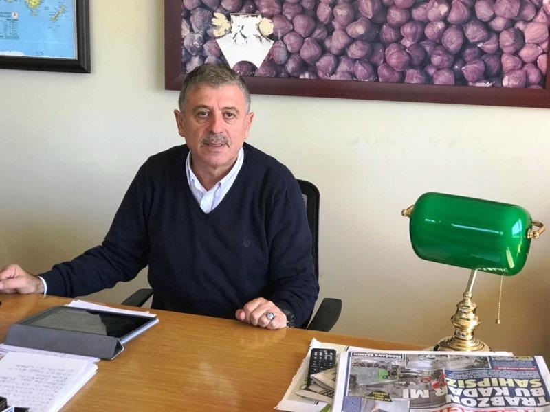 """Mehmet Albayrak; """"Fındık bahçesi olanlar ile üreticileri ayırmak lazım."""""""