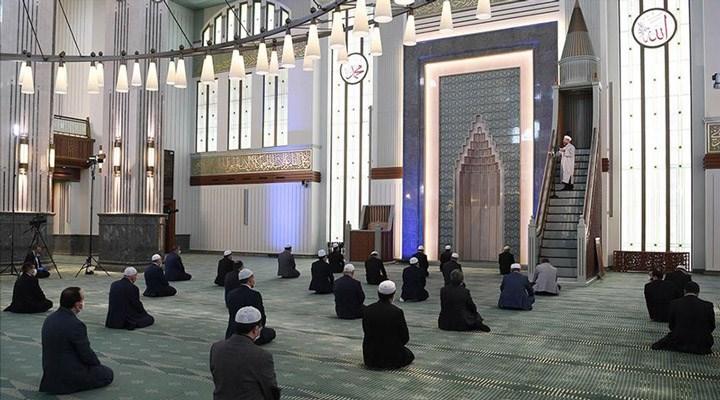 Camilerde cemaatle ibadete 29 Mayıs 2020 Cuma günü  açılıyor