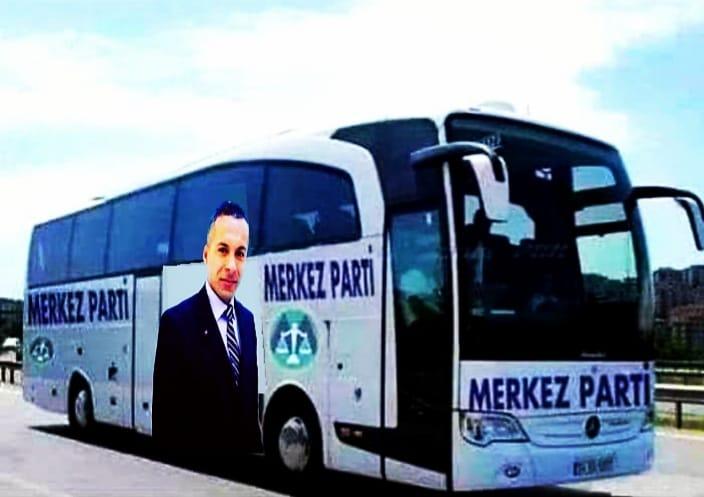 Türkiye'nin Partisi Türkiye Yollarında Merkez Parti HATAY 'da