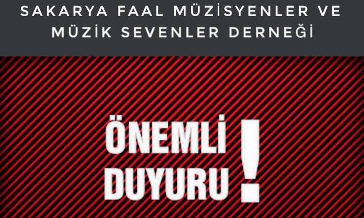 """Sakaryalı Müzisyenler Cumhurbaşkanı Erdoğan'a Seslendi, """"Zor Durumdayız"""""""