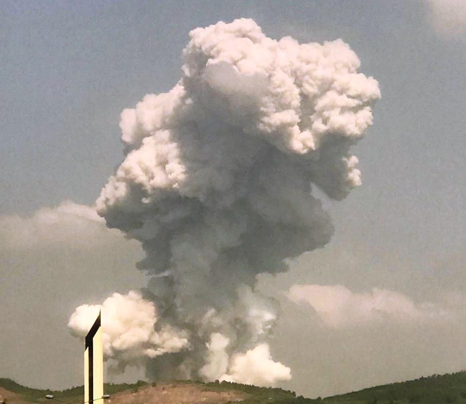 Havai fişek fabrikasında patlama: 4 can kaybı, 108 yaralı