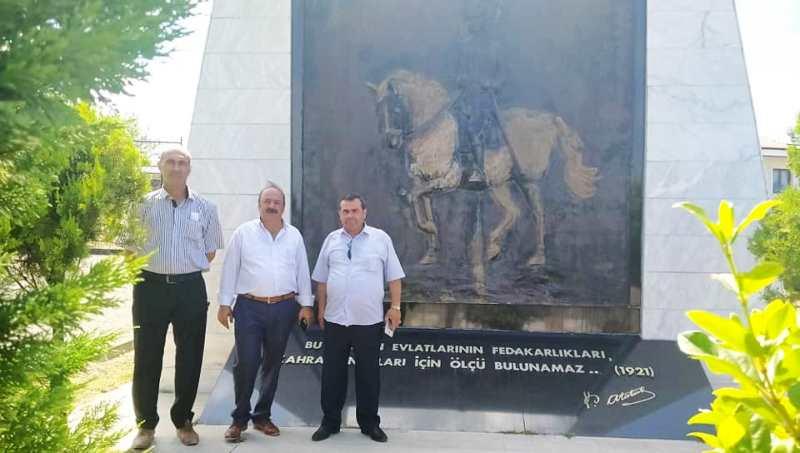 Türkiye Ekonomi ve Kalkınma Partisi Genel Başkanı Vehbi Şahin Sakarya'da