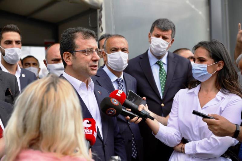 """İmamoğlu """"Allah İstanbul'u akla ve bilime inanmayanların şerrinden korusun"""""""