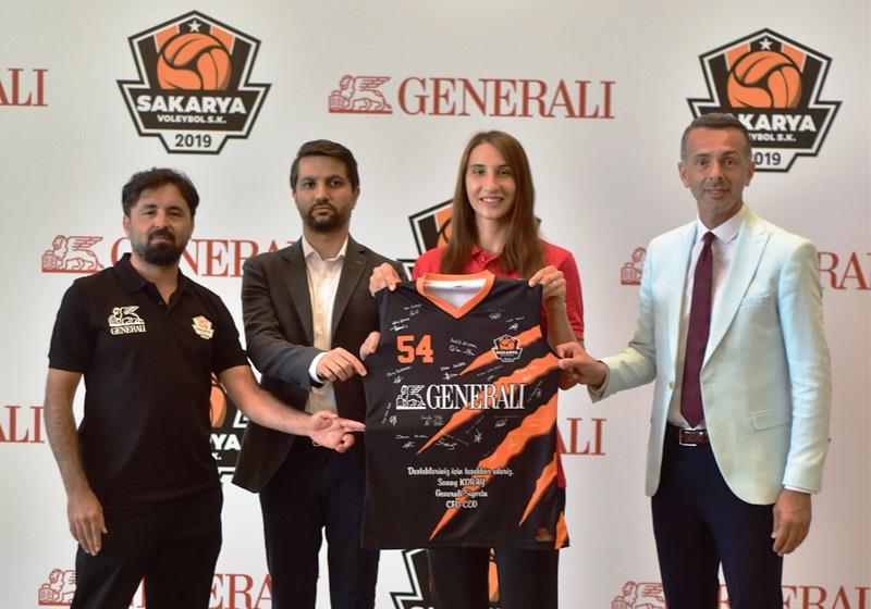 Generali Sigorta, Sakarya Voleybol Spor'un isim sponsoru oldu