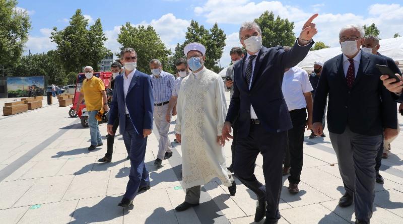 Orhan Cami'de restorasyon çalışmaları hızla tamamlanacak