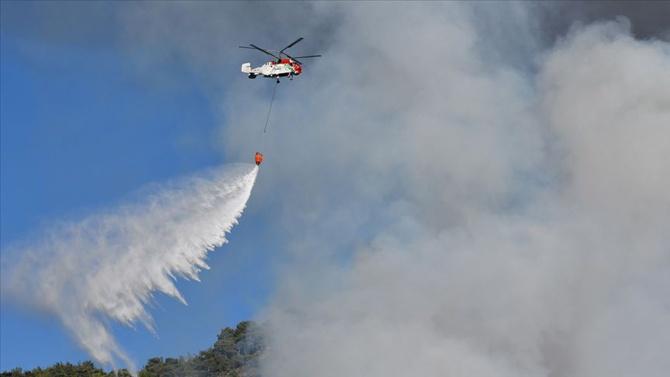 Bakan Pakdemirli'den bugünkü yangınlarla ilgili açıklama